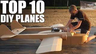 getlinkyoutube.com-Top 10 DIY Planes of 2016 | Flite Test