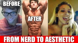 getlinkyoutube.com-Aesthetics on Video Chat: Nerd Surprises Girls