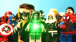 "getlinkyoutube.com-LEGO AVENGERS VS DOCTOR DOOM (Marvel Super Heroes Movie ""Stop Motion Animation"")"