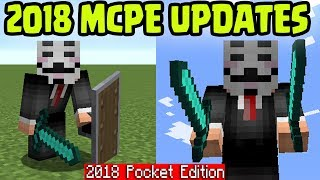 MCPE 2018!! Minecraft Pocket Edition FUTURE UPDATES to RELEASE in 2018 (PE)