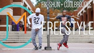 getlinkyoutube.com-Fik-Shun + CoolBroJoee FREESTYLE // JUSMOVE WINNER