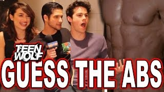 "getlinkyoutube.com-""Teen Wolf"" Guess the Wolf Abs Quiz with Tyler Posey, Dylan O'Brien & Crystal Reed"