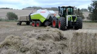 getlinkyoutube.com-Claas Høstdemostration I Vinderup Maskinforretning A/S 2