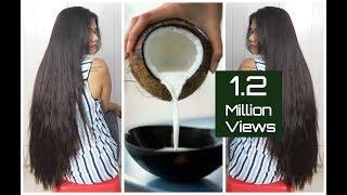 DIY Natural Coconut Milk Cream For Soft & Shiny Hair|Sushmita's Diaries
