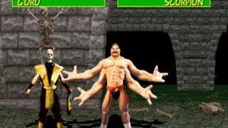 getlinkyoutube.com-Mortal Kombat 1 Scorpion Gameplay Playthrough Longplay