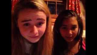getlinkyoutube.com-Sabrina Carpenter & Rowan Blanchard Ustream 6/29/13