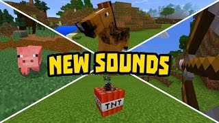 getlinkyoutube.com-NEW REALISTIC SOUNDS in MINECRAFT POCKET EDITION!!!