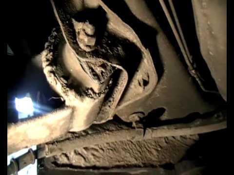 Опель Астра замена сайлентблоков задней балки Astra the rear beam
