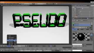 getlinkyoutube.com-[TUTO] Faire un Pseudo 3D avec Blender (gratuitement)