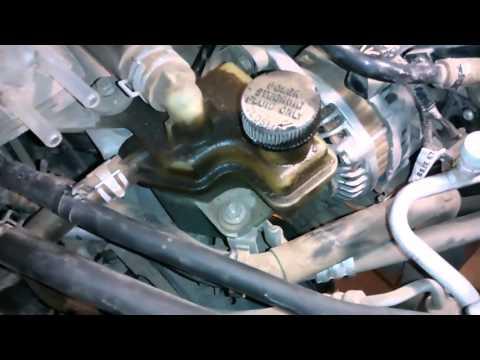 Mazda3 (BK 1.6) замена помпы