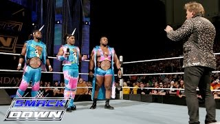 getlinkyoutube.com-The New Day casts a shadow over Y2J: SmackDown, Jan. 21, 2016