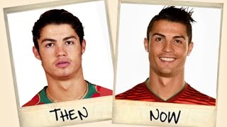 getlinkyoutube.com-Famous Football Stars - Then and Now!