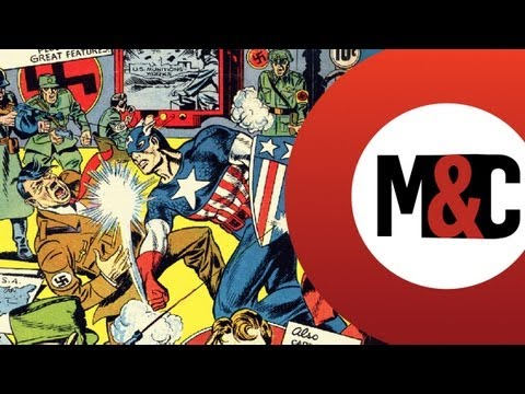War in Comics - Mask & Cape