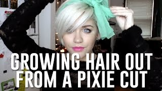 getlinkyoutube.com-growing hair out from pixie cut: how to cope while lookin' cute
