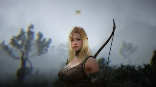 getlinkyoutube.com-Black Desert Online Beta Level 27 Archer Gameplay No UI HD