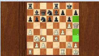 getlinkyoutube.com-Chess Tactics - Crushing attack against Sicilian defence