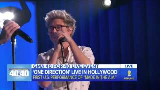 getlinkyoutube.com-One Direction - Start of the show (GMA)
