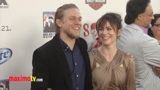 getlinkyoutube.com-Sons of Anarchy Season 5 Premiere Charlie Hunnam, Maggie Siff, Katey Segal, Ronda Rousey