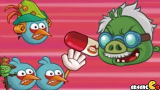 getlinkyoutube.com-Angry Birds Fight! RPG Puzzle - DR. PIG'S LAB Floors 10!
