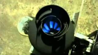 getlinkyoutube.com-廃油ストーブ  送風管 改良