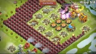 getlinkyoutube.com-Castle Clash : HBM ( S ) defeated