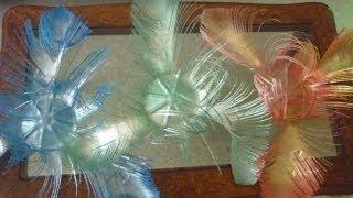 getlinkyoutube.com-Цветы из пластиковых бутылок!!! Просто и красиво!!!
