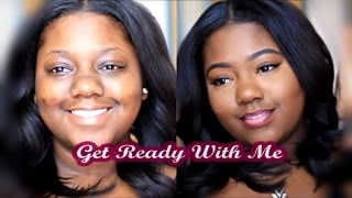 getlinkyoutube.com-Everyday Natural Beat Makeup Glam| Get Ready With Me