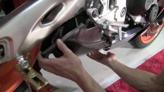getlinkyoutube.com-TaylorMade Exhaust Install - Honda CBR 1000 RR - Part Two