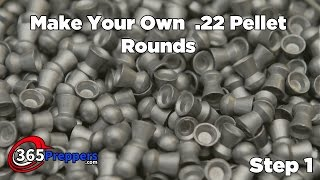 getlinkyoutube.com-Make Your Own  22 Pellet Rounds - Step 1