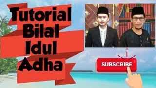 Tutorial Menjadi Bilal Shalat Iedul Adha oleh Ust Abdul Muttalib
