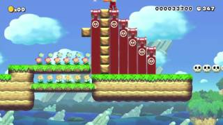 getlinkyoutube.com-トゲメット大事! by おざっきー - Super Mario Maker - No Commentary