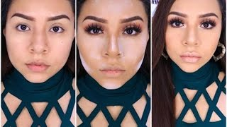 getlinkyoutube.com-OJOS ELEGANTES Y SENCILLO PASO A PASO - EASY GLAM MAKEUP