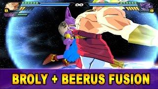 getlinkyoutube.com-Broly and Beerus Fusion | Brorus | DBZ Tenkaichi 3 (MOD)
