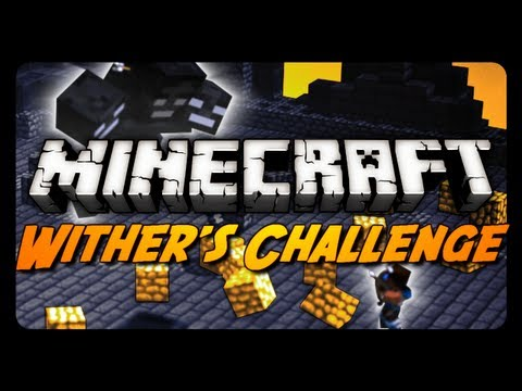 Minecraft: The Wither's Challenge Mini-Game! (The Movie)