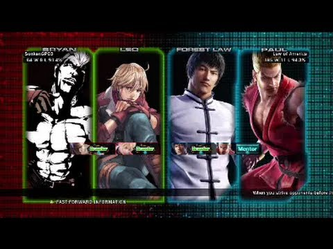 Tekken Tag Tournament 2 : SonkenGP03 ( Leo X Bryan ) VS Law of America ( Forest Law X Paul )