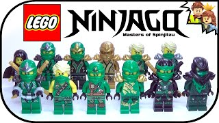 getlinkyoutube.com-LEGO Ninjago Green Ninja Lloyd Ultimate Collection 2015