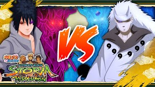 getlinkyoutube.com-[PC] NARUTO SHIPPUDEN: Ultimate Ninja STORM REVOLUTION | Rinnegan Sasuke VS Rikudou Madara