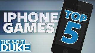 getlinkyoutube.com-Top 5 iPhone Games - The 8-Bit Duke