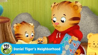 getlinkyoutube.com-DANIEL TIGER'S NEIGHBORHOOD | Oh No! Margaret Wants My Stickers | PBS KIDS