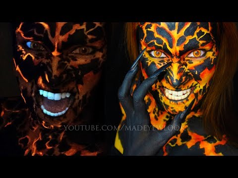 Seven Deadly Sins Makeup Tutorial | Wrath | Lava Makeup