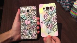getlinkyoutube.com-DIY: ¡Funda para el celular con zentangle art! 📱❤️