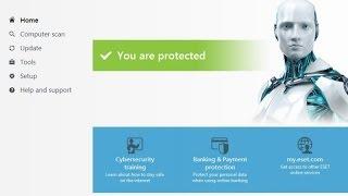 getlinkyoutube.com-تفعيل برنامج ESET Smart Security 9 بطريقه سهله جدا مدى الحياة