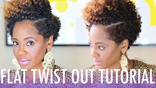 getlinkyoutube.com-Flat Twist Out Tutorial ft. Bee Mine Products | Natural Hair