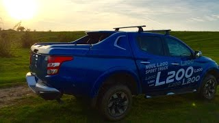 getlinkyoutube.com-Test Drive New Mitsubishi L200 (2015), iDrive TV (Romania), Episodul 3