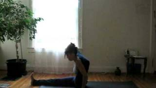 getlinkyoutube.com-Laruga - Ashtanga Yoga - Intermediate Series - Eka Pada Sirsasana