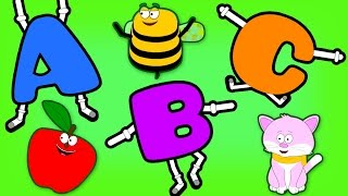 getlinkyoutube.com-ABC Phonics Songs | Learning Song for Toddlers | Plus More Children's Rhymes by Teehee Town