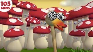 getlinkyoutube.com-Gazoon   Cartoons for Children   The Hallucinating Ostrich   Funny Cartoons by HooplaKidz TV