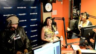 "getlinkyoutube.com-Taraji P. Henson talks ""Think Like a Man"" sex scene with Michael Ealy on #SwayInTheMorning"