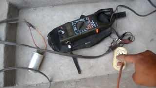 getlinkyoutube.com-PRUEBA DE AHORRO DE ENERGIA ELECTRICA CON CAPACITORES 2013