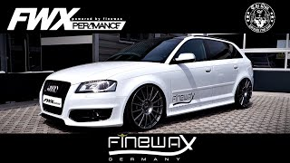 getlinkyoutube.com-Audi S3 8P //Stage 2+ & Per4mance Valve Exhaust | Car Porn - 0-232km/h | FWX Performance